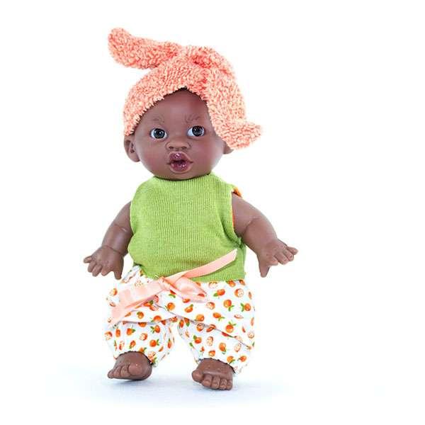 mini poupée vinyle noire Nefi