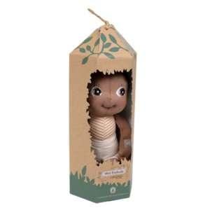 mini poupée doudou garçon en coton bio