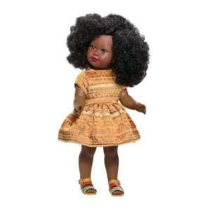poupée noire fille en vinyl