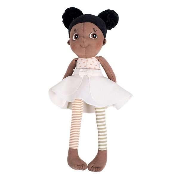 Poupée fille en coton bio 35 cm