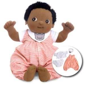 vetement de grande poupée noire en tissu