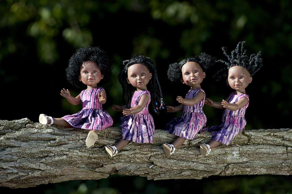 Kitoko doll coiffage