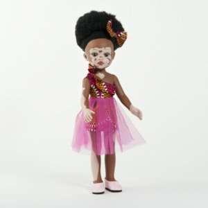 Poupée atteinte de vitiligo fille en vinyle