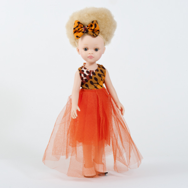 Poupée albinos fille