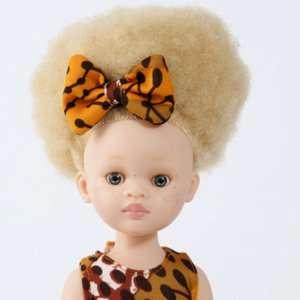 Poupée albinos fille en vinyle