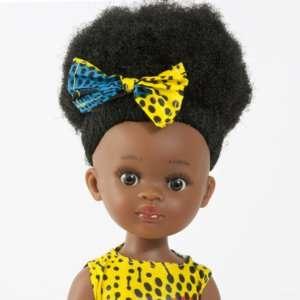 Poupée noire fille en vinyle