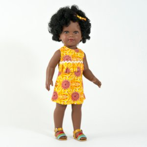 Poupée africaine fille