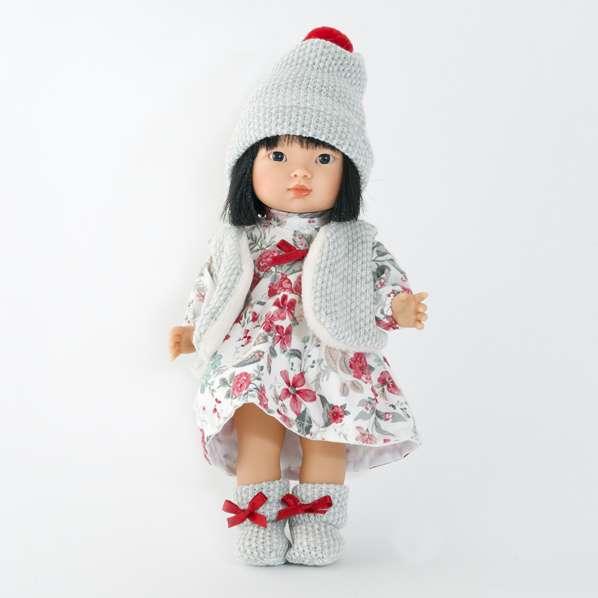 Poupée-asiatique-chinoise-vinyle-fille