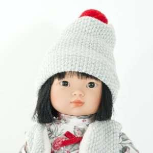 Poupée asiatique fille en vinyle