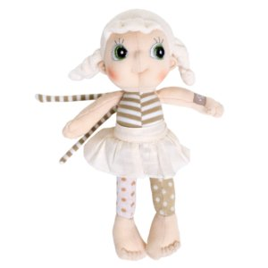 Mini doudou fille 23 cm