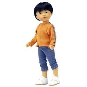 arun poupée du monde garçon asiatique