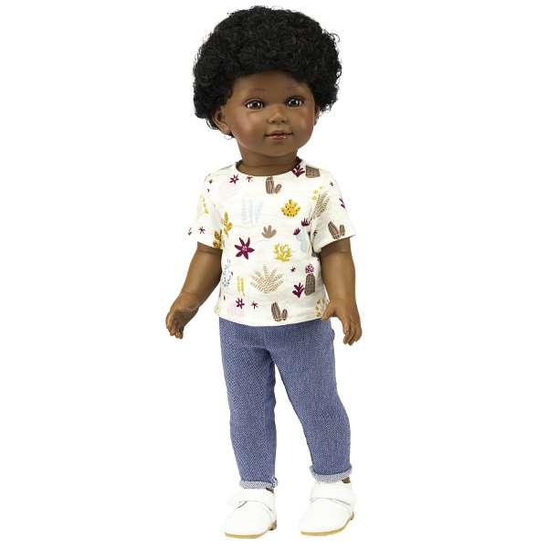 Barak poupée garçon noir africain