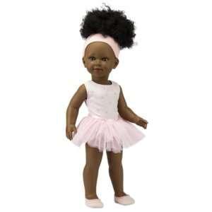 Ama poupée black avec afro à coiffer