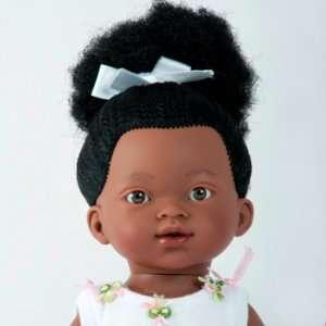 Khady ravissante poupée ballerine africaine aux cheveux crépus et longs