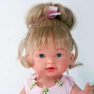 Emma poupée ballerine aux cheveux blonds mi-longs