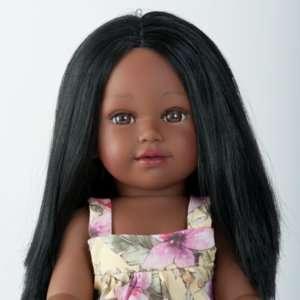 Daya ravissante poupée indienne à coiffer